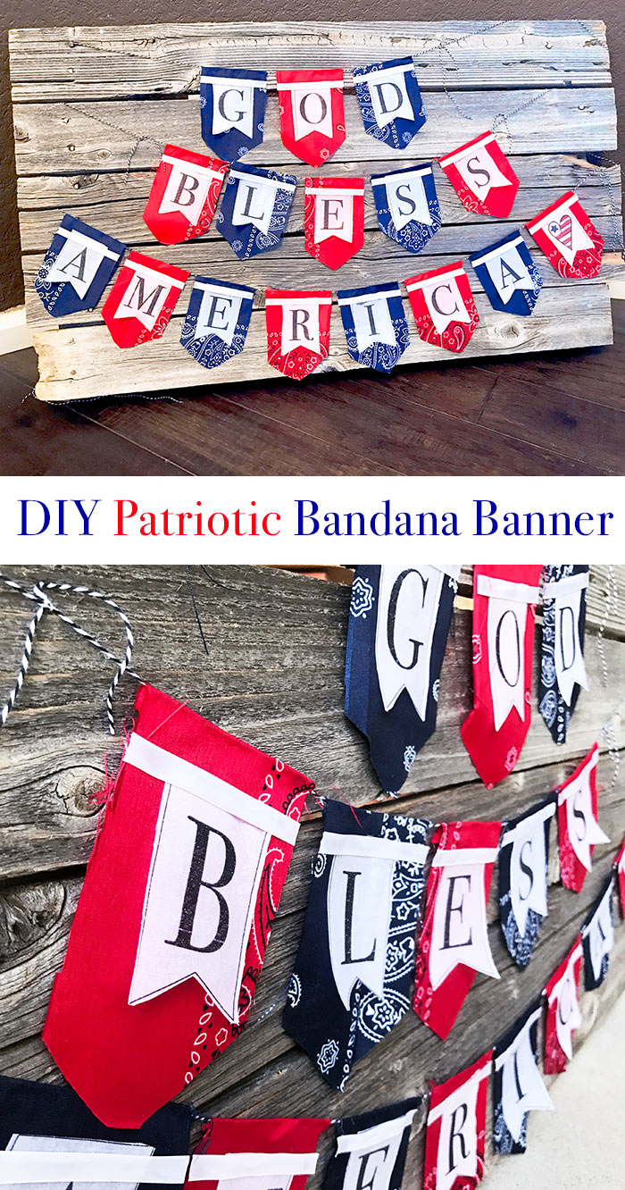 4cbec31198701f Make this patriotic bandana banner with just a few supplies!