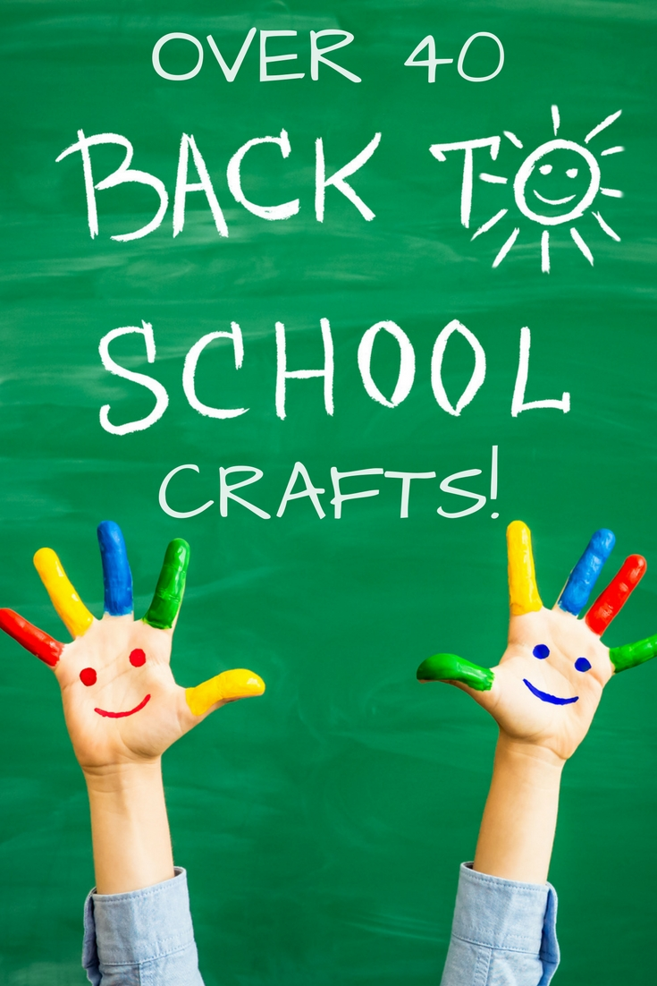 Over 40 back to school ideas for you! They are take 15 minutes or less!