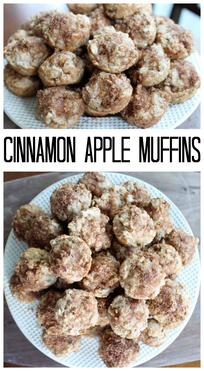 Cinnamon Apple Muffins by The Country Chic Cottage