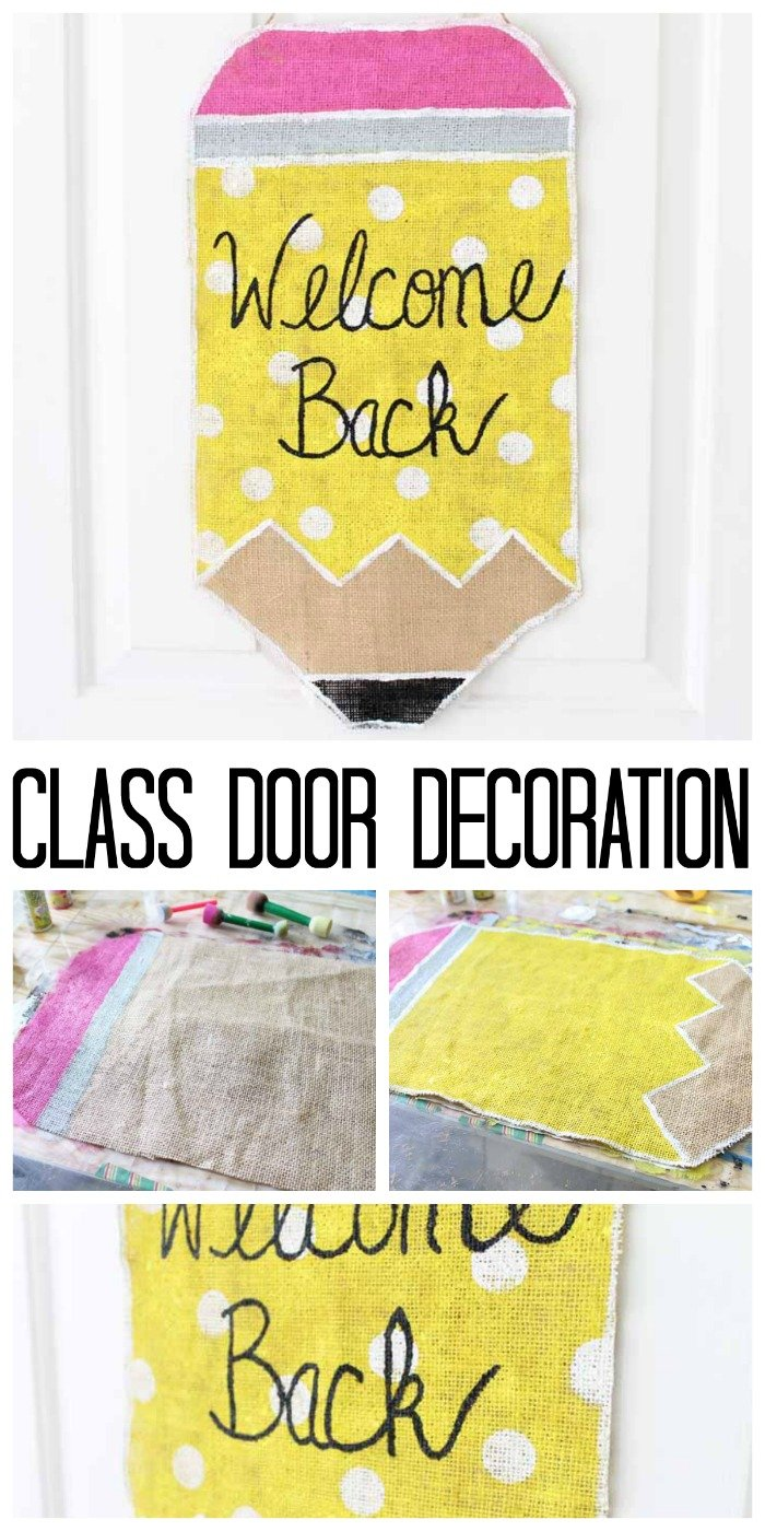 Class Door Decoration For Back To School The Country Chic Cottage