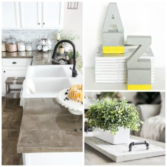 Concrete Decor:  Ideas for Your Home