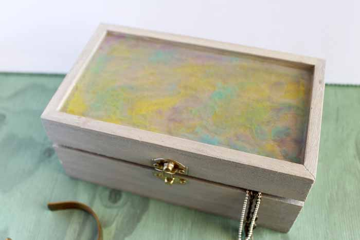 Make a handmade jewelry box for your home or to give as a gift!