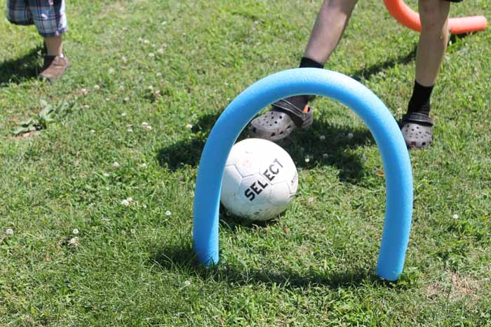 Make these pool noodle games for your kids to play with this summer! So quick and easy!