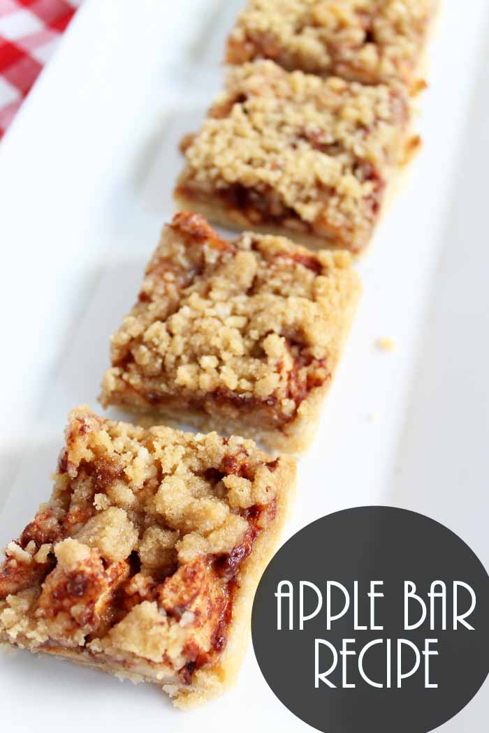 Make this apple bar recipe for fall! A delectable alternative to apple pie!