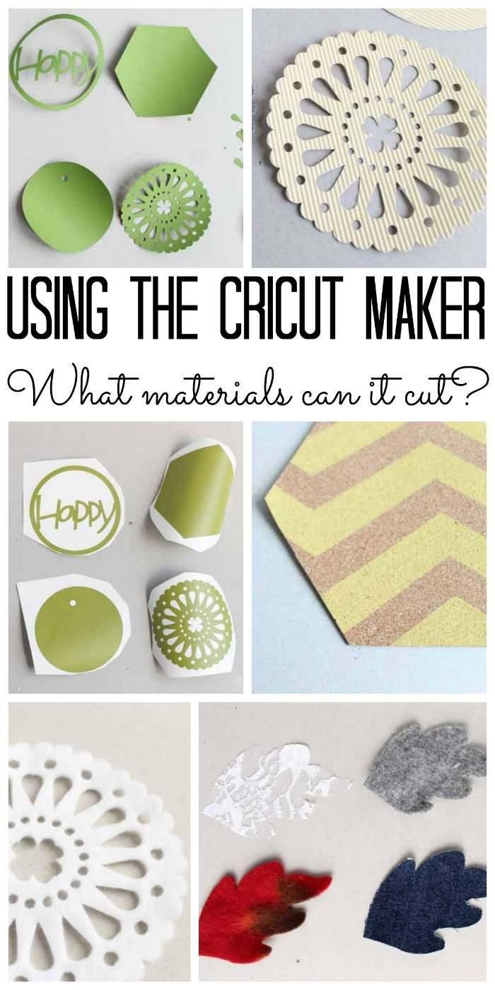 What materials can the Cricut Maker cut? We have all the details!