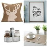 Farmhouse decorating ideas for $10 or less! Great finds that you need for your rustic home!