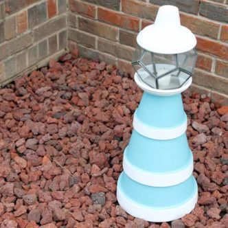 Flower Pot Lighthouse:  Make Your Own!