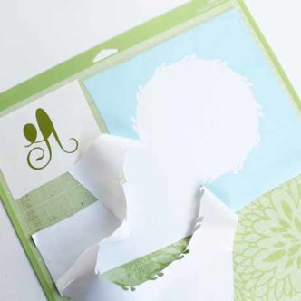 Learn the easiest way to cut scraps on your Cricut! Snapmat makes cutting scraps of any material precise and super simple!