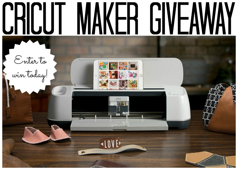 image for a Cricut Maker Giveaway