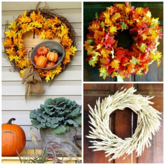 Fall Door Wreaths:  Ideas for Your Home