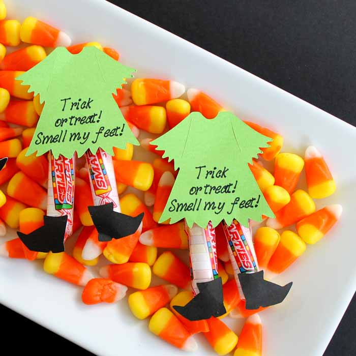 cricut halloween candy idea