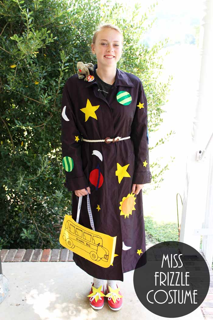 Make this Miss Frizzle costume for Halloween or a school dress up day!