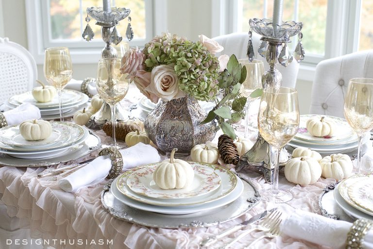 Holiday Table Decoration Ideas Part - 33: Thanksgiving Decorating Ideas For Your Holiday Table!