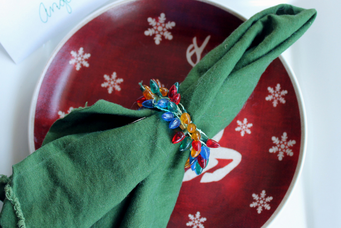 5 Quick and Easy Christmas Napkin Rings to make in 15 minutes or less!