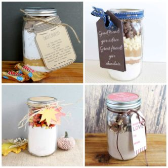 Cookie Mix in a Jar:  20 Ideas for You!