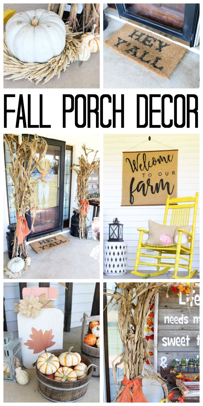Fall Porch Decor With A Farmhouse Feel