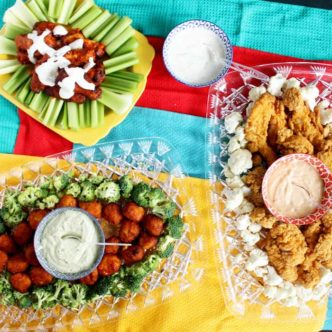 Try these ideas for your football themed party! Great food ideas that everyone will love for the big game!