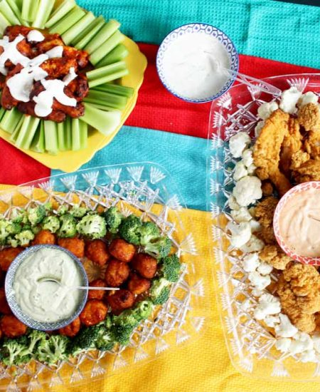 snack ideas perfect for a football party