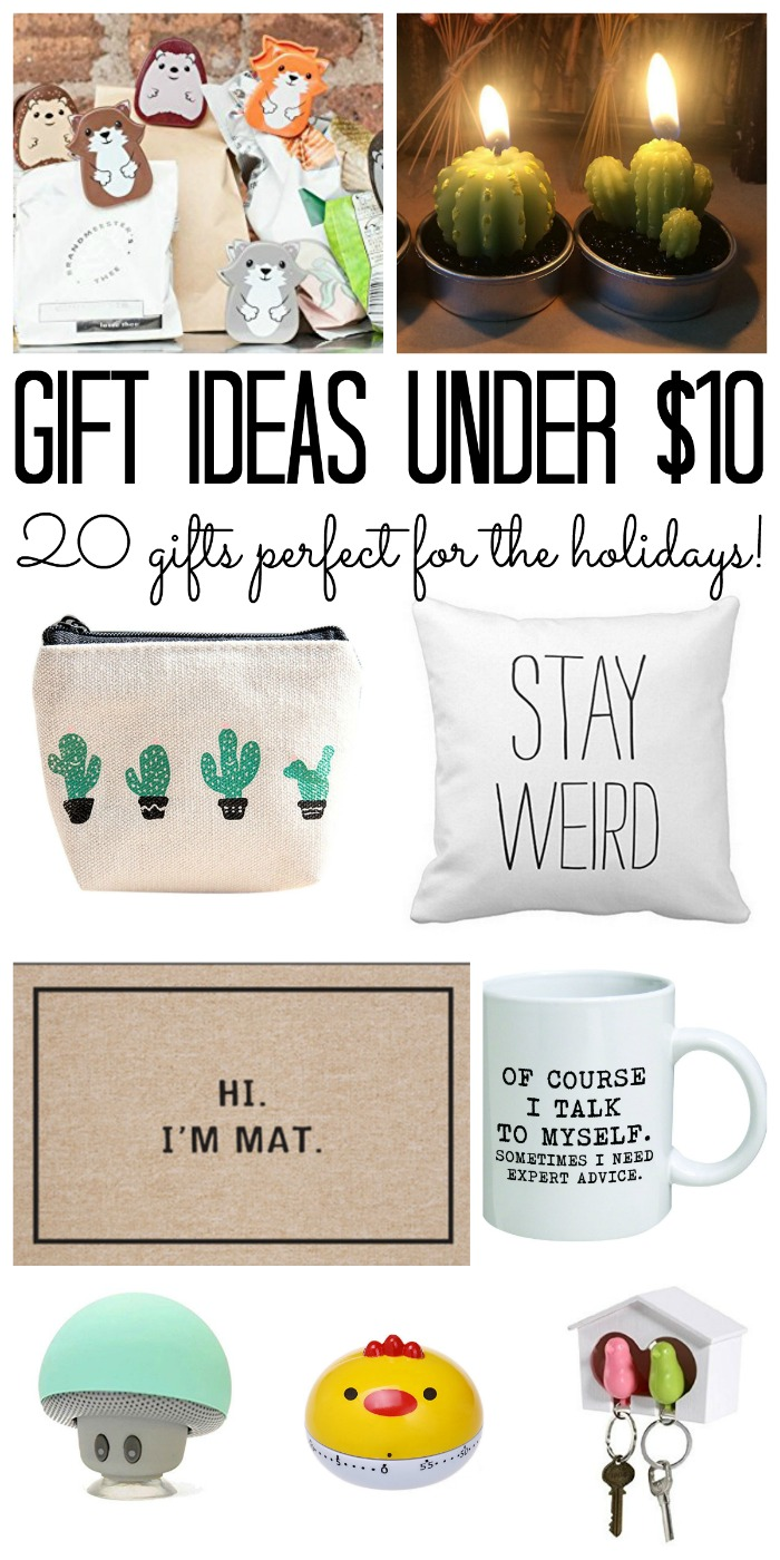 Christmas Gifts For Coworkers Under 10.Gifts Under 10 My Gift Guide The Country Chic Cottage