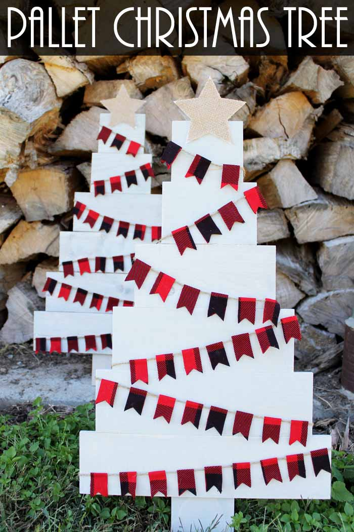 pallet christmas tree instructions