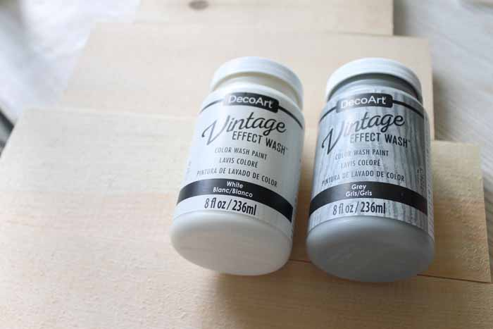 vintage effect wash color wash paint
