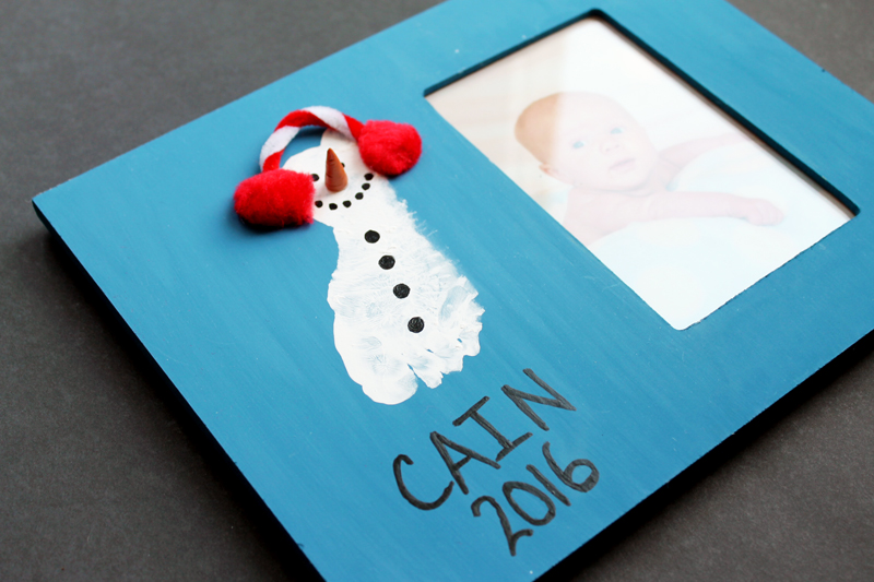 photo frame with a baby\'s picture inside