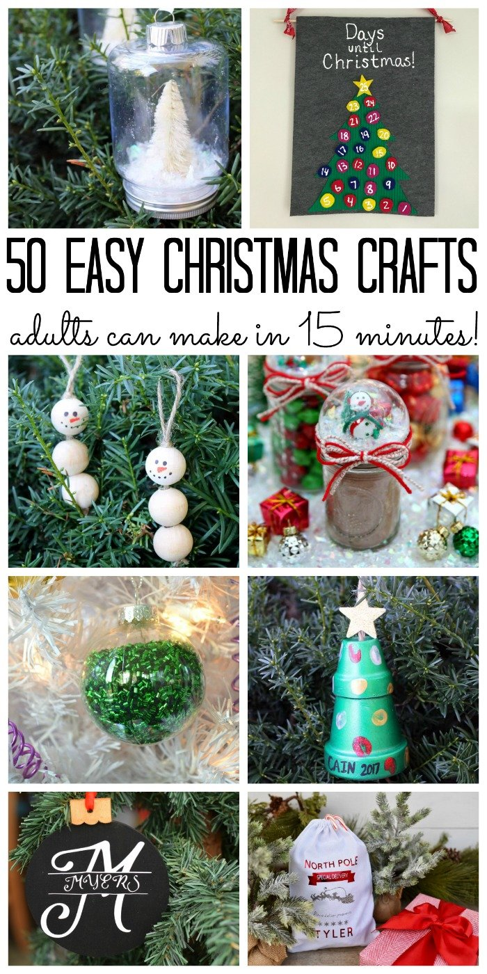 Easy adult crafts