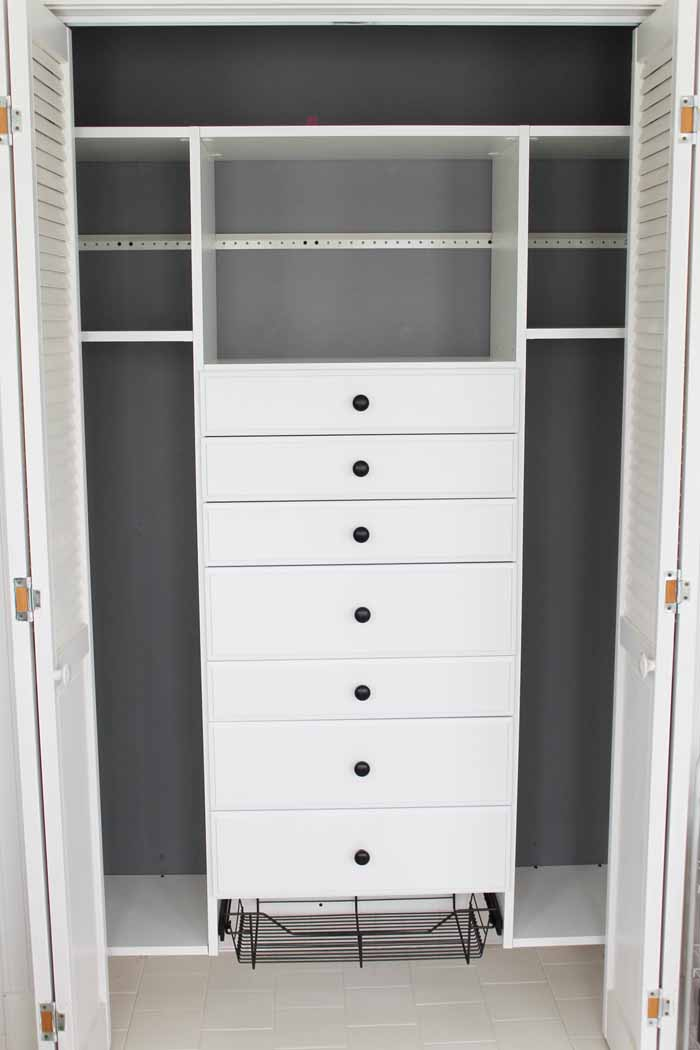 craft closet design from easyclosets installed