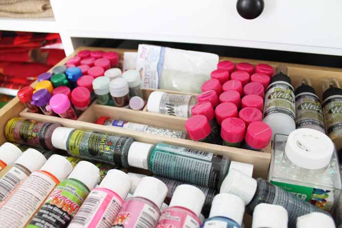 Craft Room Storage - make yourself the ultimate craft space with these ideas!