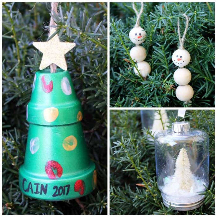 make these easy christmas crafts for adults in just 15 minutes or less over 50 - Homemade Christmas Ornament Ideas