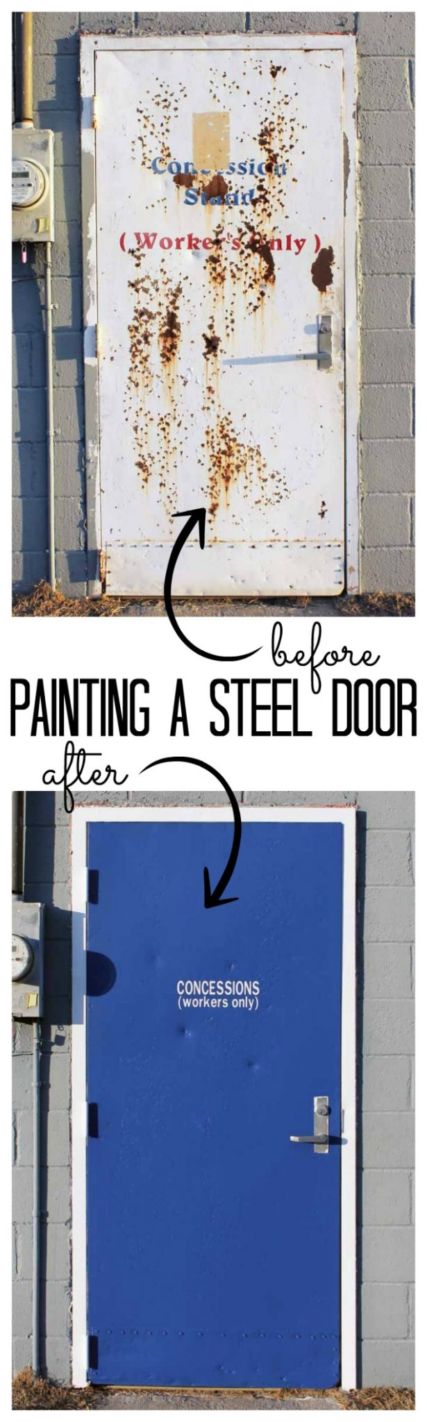 Need help painting a steel door? We have all of the tips and tricks to make your project go smoothly!