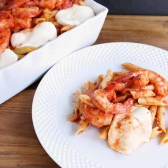 Make this spicy shrimp pasta as a quick and easy meal any night of the week!