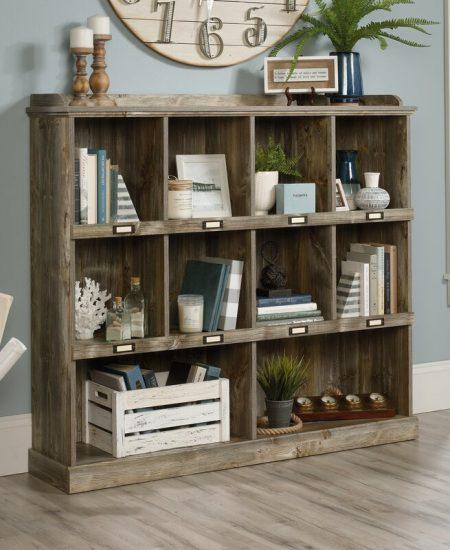 rustic storage shelf