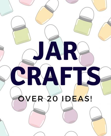 Jar Crafts: Over 20 ideas to use in and around your home! Great gift ideas as well!