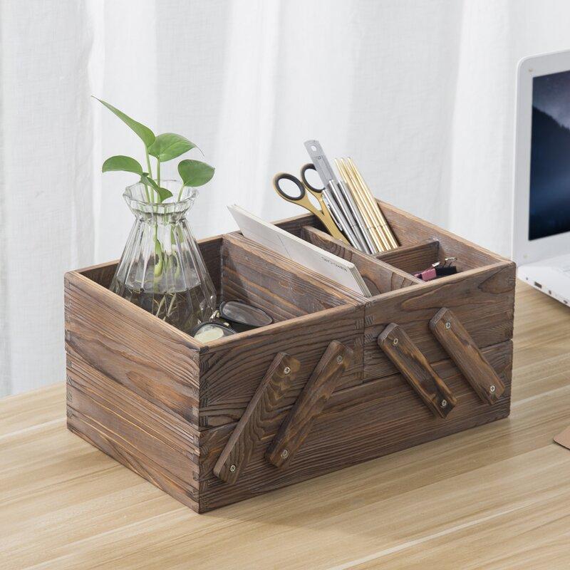 wood hinged box