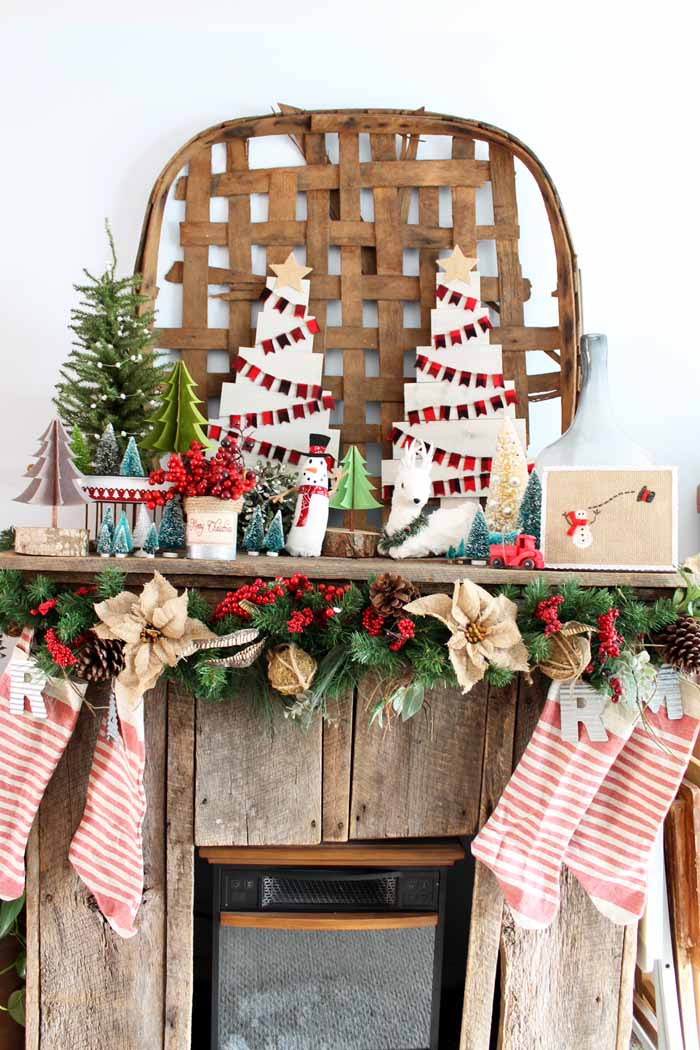 farmhouse christmas decor great ideas for your home for the holidays - Farmhouse Christmas Decor