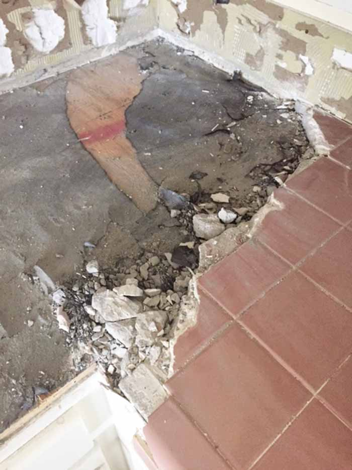 removing tile counters