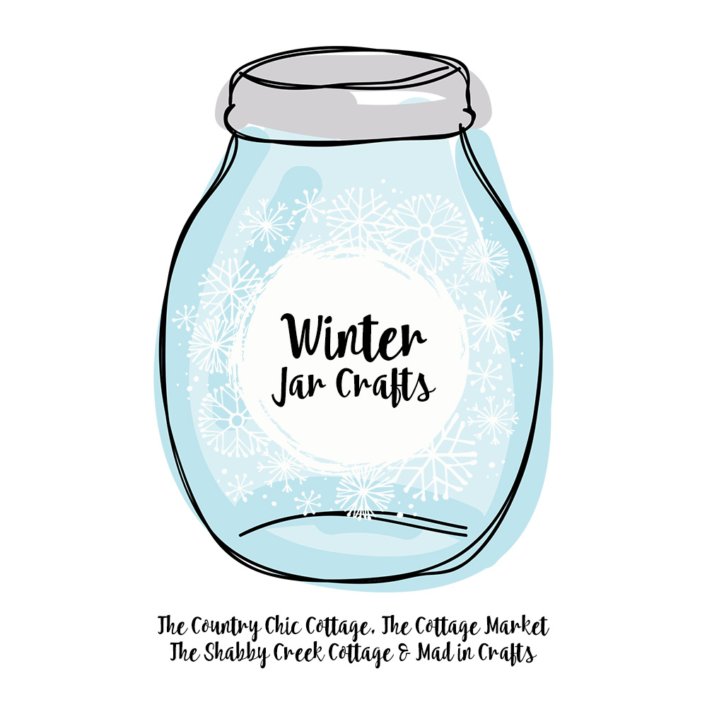 winter jar crafts