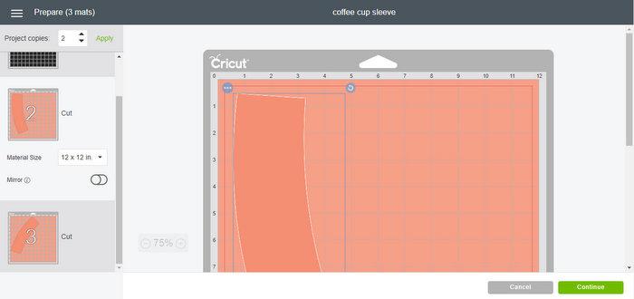 Tutorial for cutting in Cricut Design Space