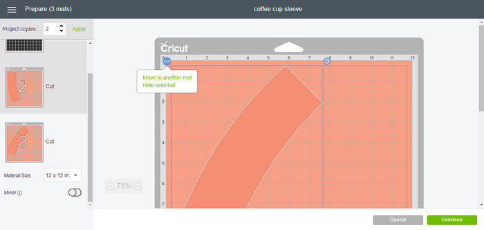 Tutorial for cutting in Cricut Design Space