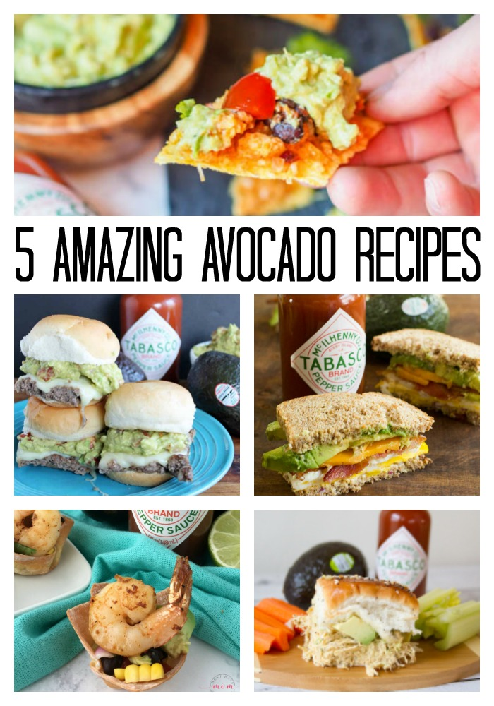 5 Amazing Avocado Recipes for the Big Game! #avocado #recipe #biggame