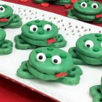 Dipped Oreos:  Frog Cookies for The Kids