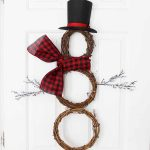 Snowman Wreath:  Perfect for Winter