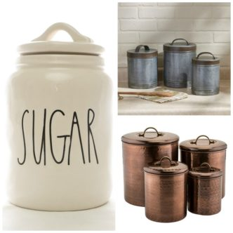 Farmhouse Canisters for Your Country Home
