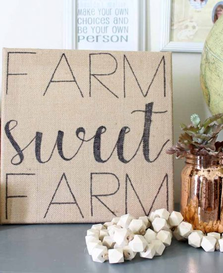 how to make a farmhouse style sign