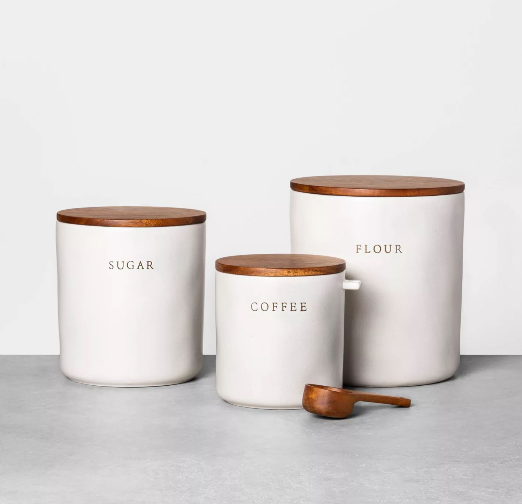 farmhouse style canisters