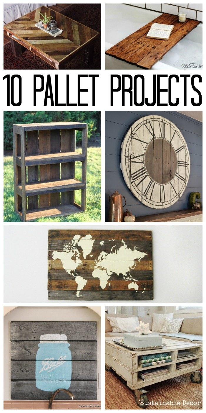 These Are 10 Pallet Projects That Looking To Make Some Extra Cash Try