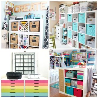 25 Craft Rooms:  Gorgeous Inspiration for Your Space