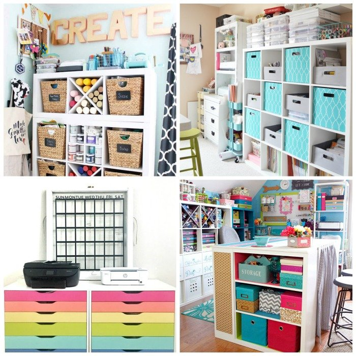 25 Inspirations Showcasing Hot Home Office Trends: 25 Craft Rooms: Gorgeous Inspiration For Your Space