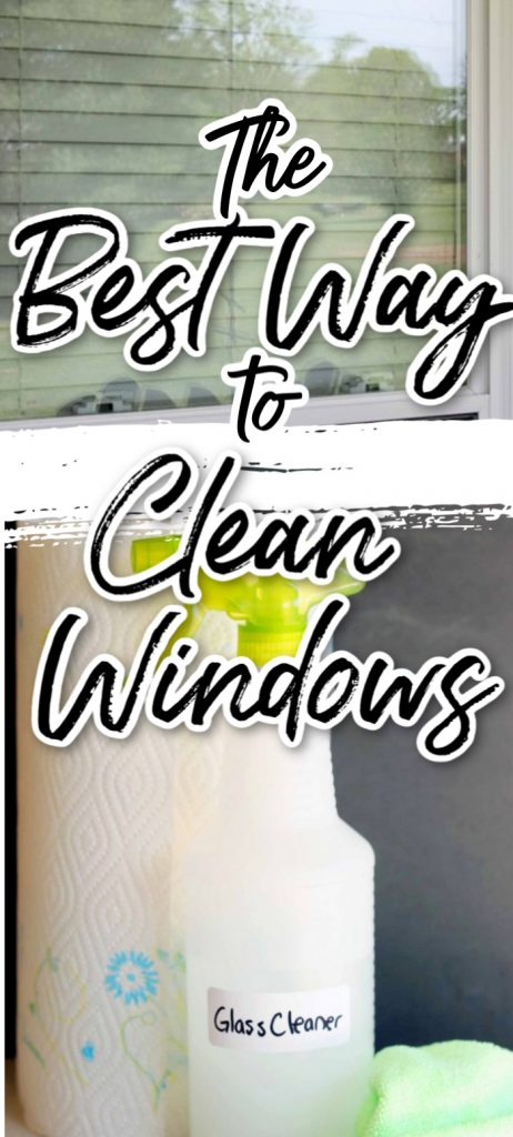 The Best Way to Clean Windows